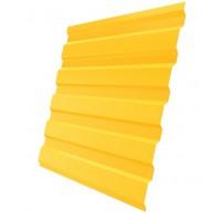 Профнастил (2 сорт), С20(A),  RAL 1018 (желтый),  2 х 1,15 м.