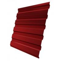 Профнастил (2 сорт), С20(A),  RAL 3003 (красный),  2 х 1,15 м.