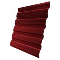 Профнастил (2 сорт), С20(A),  RAL 3011 (красно-коричневый),  2 х 1,15 м.
