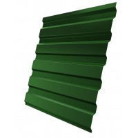 Профнастил (2 сорт), С20(A),  RAL 6002 (зеленая листва),  2 х 1,15 м.