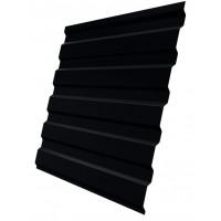 Профнастил (2 сорт), С20(A),  RAL 9005 (черный),  2 х 1,15 м.