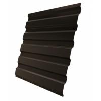 Профнастил (2 сорт), С20(A),  RR32 (темно-коричневый),  2 х 1,15 м.