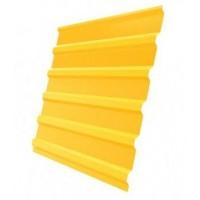 Профнастил (2 сорт), С20(B),  RAL 1018 (желтый),  2 х 1,15 м.