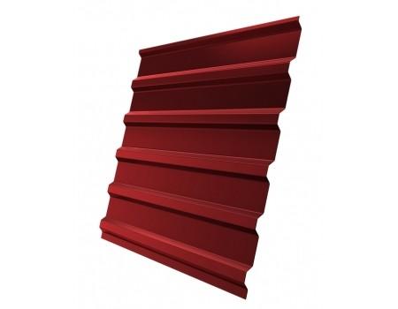 Профнастил (2 сорт), С20(B),  RAL 3011 (красно-коричневый),  2 х 1,15 м.