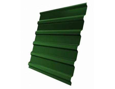 Профнастил (2 сорт), С20(B),  RAL 6002 (зеленая листва),  2 х 1,15 м.