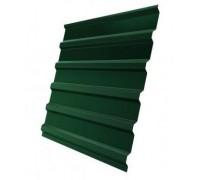 Профнастил (2 сорт), С20(B),  RAL 6005 (зеленый мох),  2 х 1,15 м.