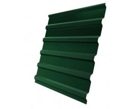 Профнастил (1сорт), С20(B), 6005(зеленый),  2,5 х 1,15 м.