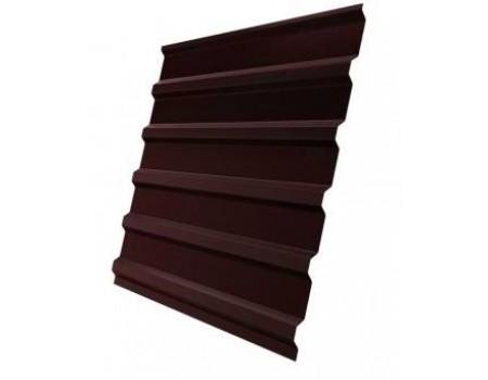 Профнастил (1сорт), С20(B), 8017(коричневый),  1,5 х 1,15 м.